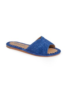 Jeffrey Campbell Dane Raffia Slide Sandal (Women)