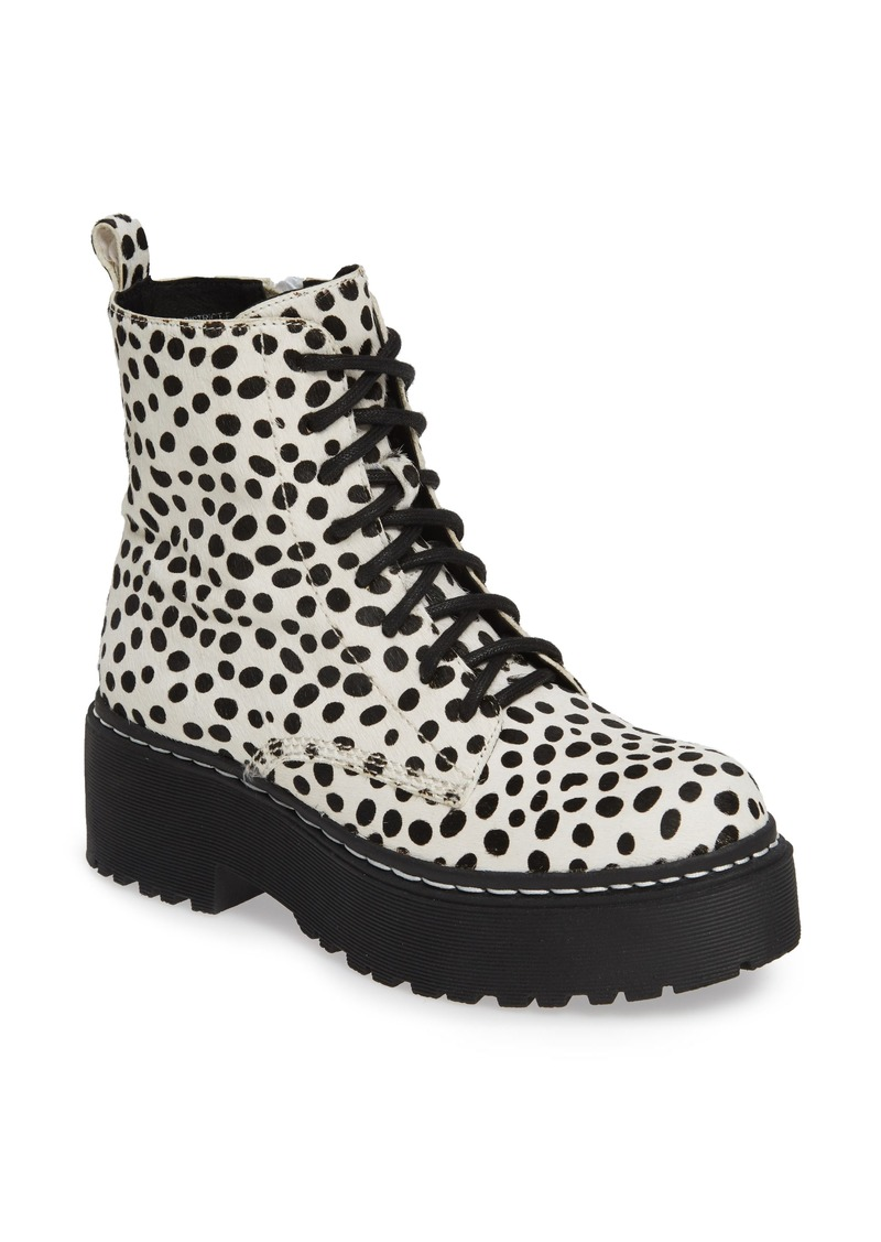 Jeffrey Campbell District-F Genuine Calf Hair Platform Boot (Women)