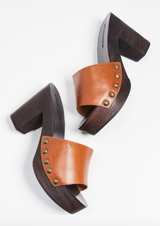 Jeffrey Campbell Dlight Block Heel Clogs