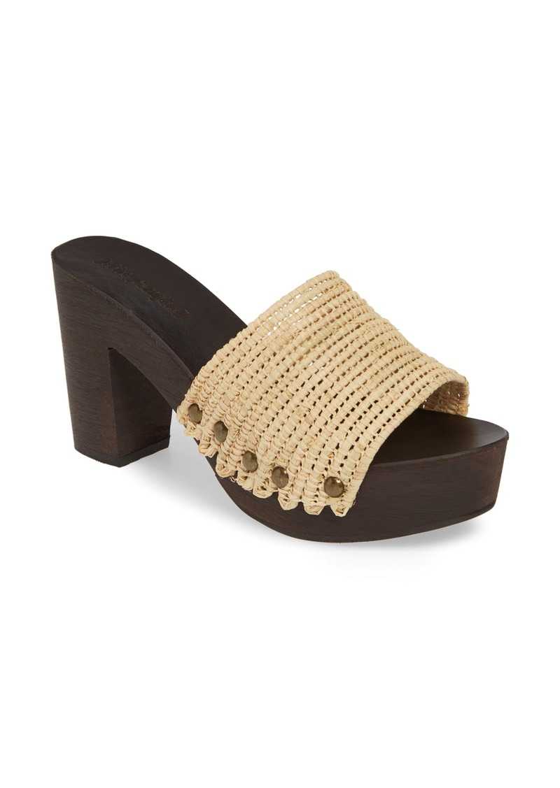 Jeffrey Campbell Dlight Platform Slide Sandal (Women)