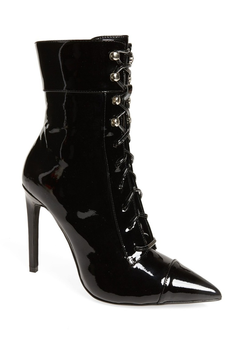 eaee93ae5 SALE! Jeffrey Campbell Jeffrey Campbell Elphaba-2 Corset Lace Bootie ...