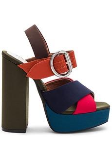 Jeffrey Campbell Elvina Heel in Orange. - size 10 (also in 6,7.5,8,8.5,9,9.5)