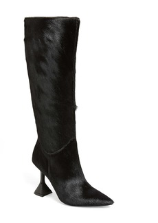 Jeffrey Campbell Entity Genuine Calf Hair Knee High Boot (Women)