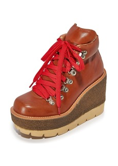 Jeffrey Campbell Explore Wedge Hiking Booties