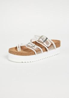 Jeffrey Campbell Fatu PVC Sandals