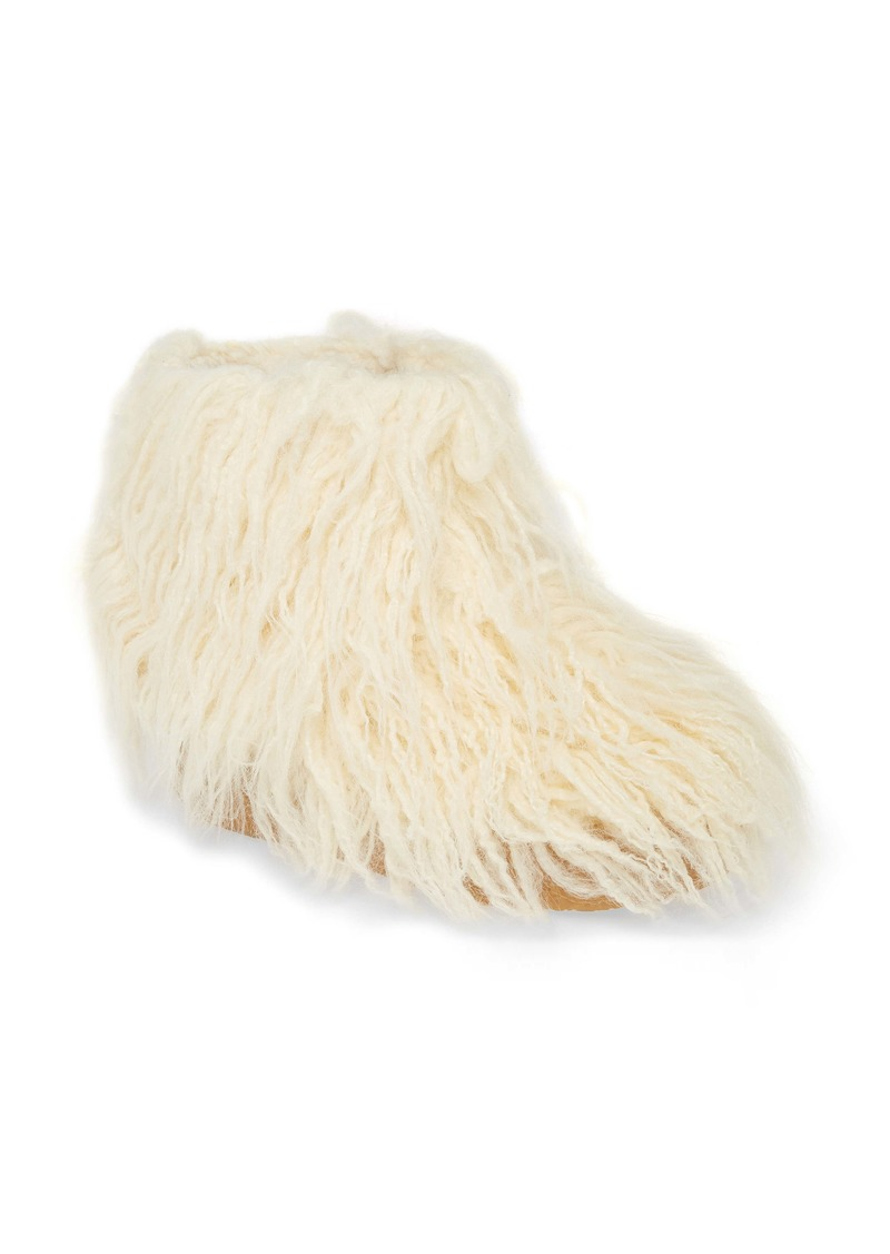 Jeffrey Campbell Fluffy Faux Fur Bootie (Women)