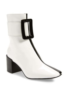 Jeffrey Campbell Godard Colorblock Buckle Boot (Women)