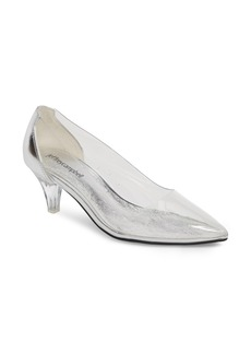 Jeffrey Campbell Gracienne Transparent Pump (Women)