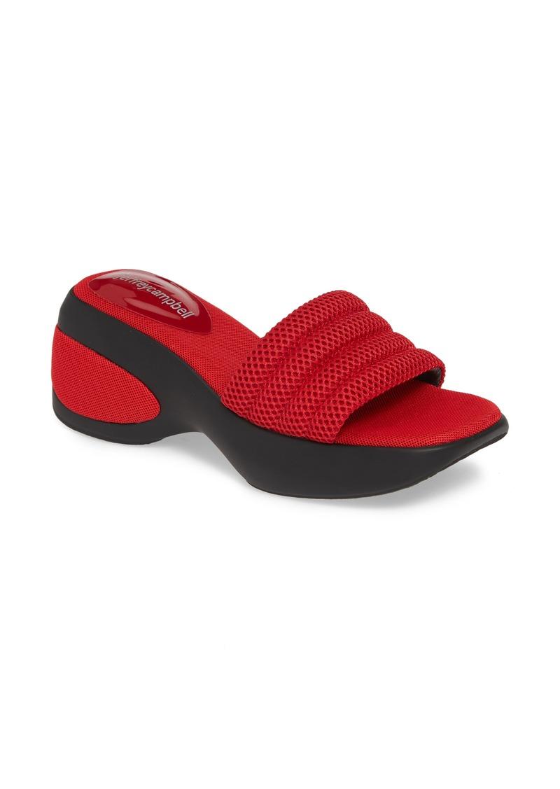Jeffrey Campbell Gym Platform Wedge Slide Sandal (Women)