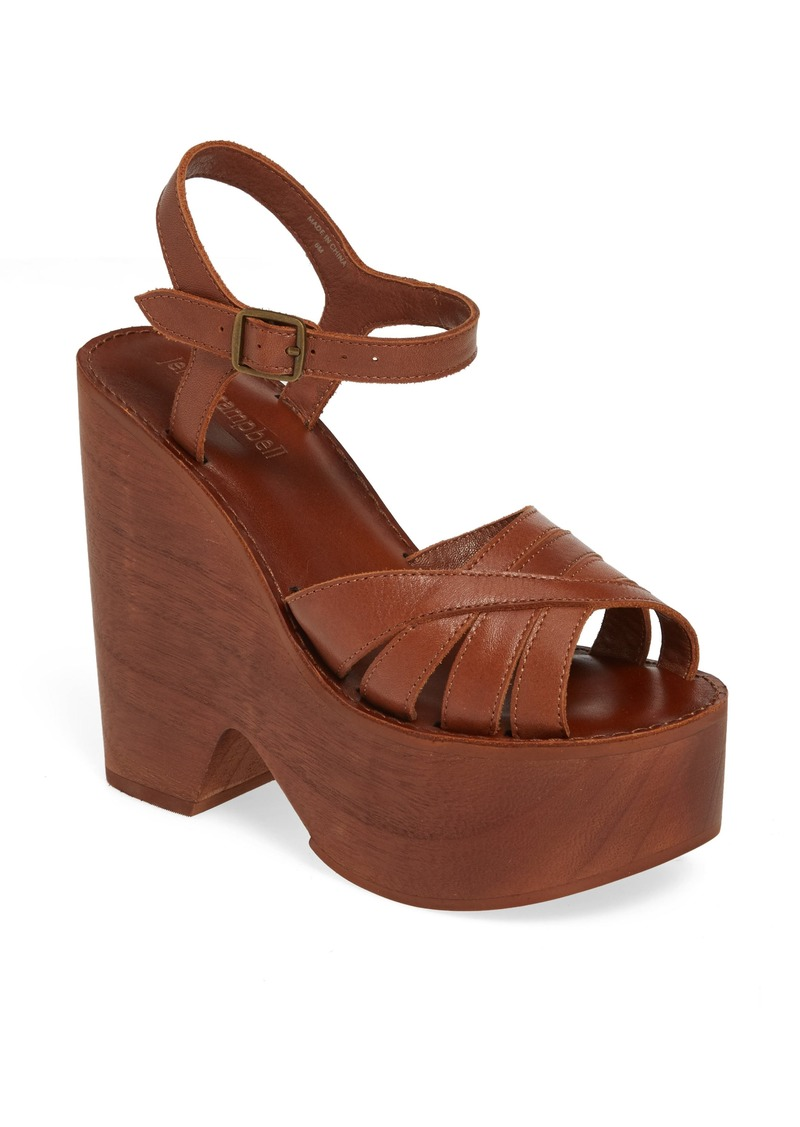 Jeffrey Campbell Havens Platform Wedge Sandal (Women)