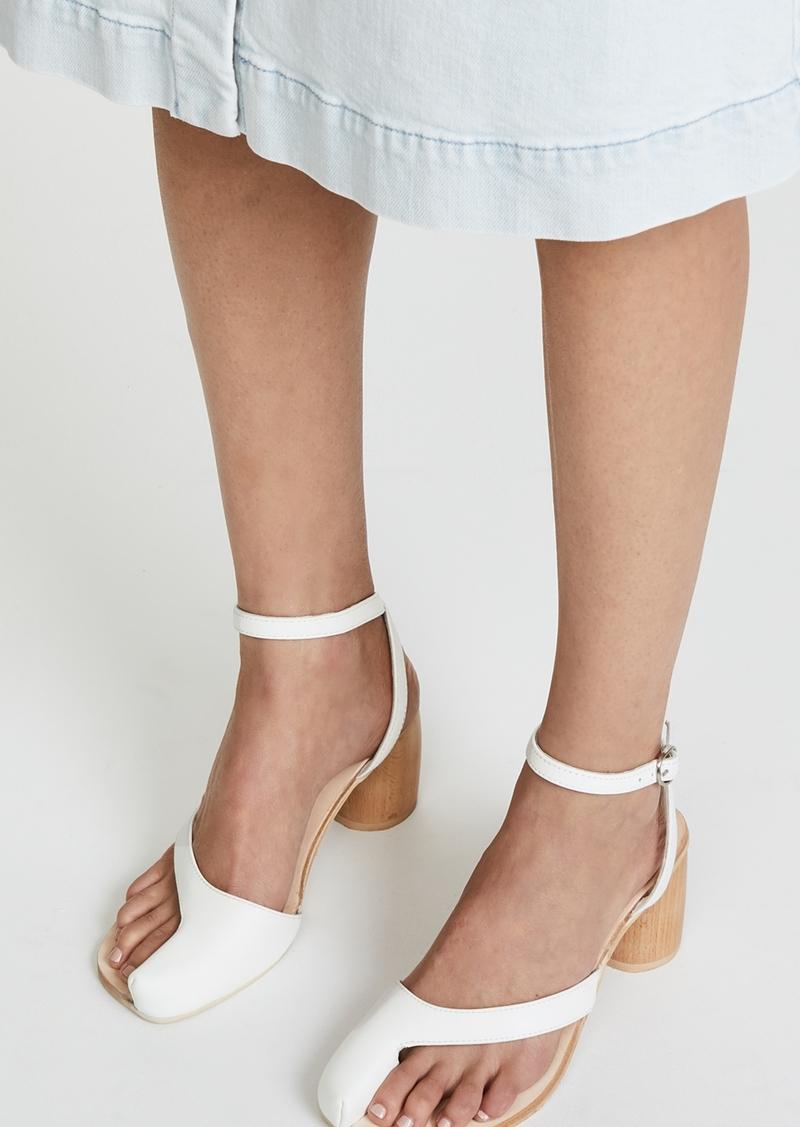 huge selection of 292ef 71813 Hex Block Heel Sandals