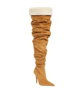 Jeffrey Campbell Igloo Slouchy Thigh High Boot (Women)