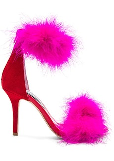 Jeffrey Campbell Inaba Feather Heel in Red. - size 10 (also in 6,6.5,7,7.5,8,8.5,9,9.5)