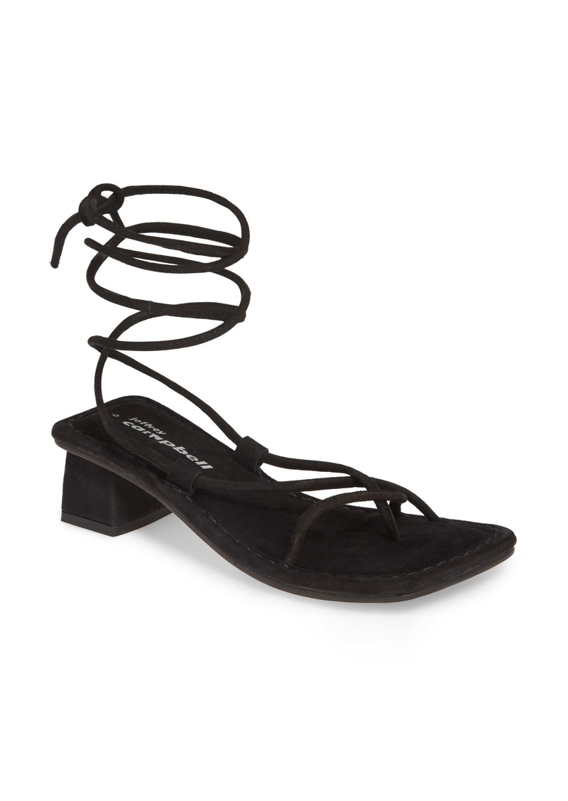 Jeffrey Campbell Kaine Wraparound Tie Sandal (Women)