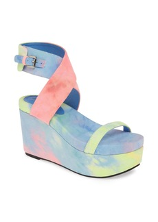 Jeffrey Campbell Kalli Platform Wedge Sandal (Women)