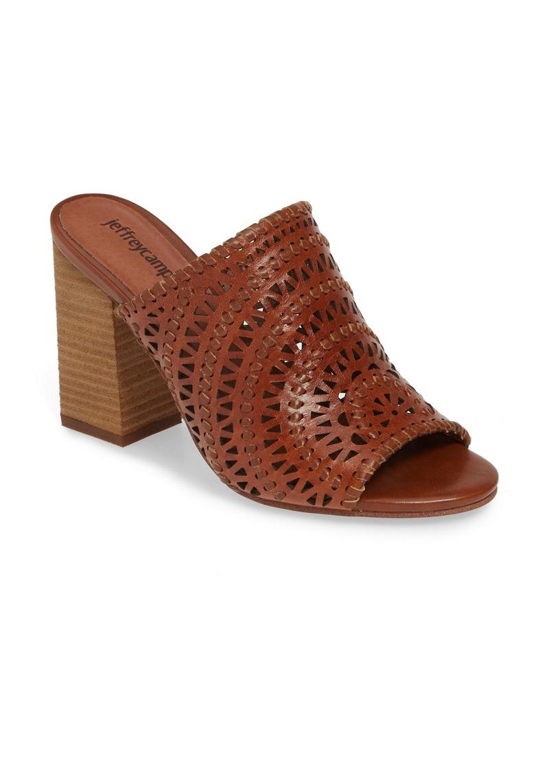 Jeffrey Campbell Kelowna Perforated Mule Sandal (Women)
