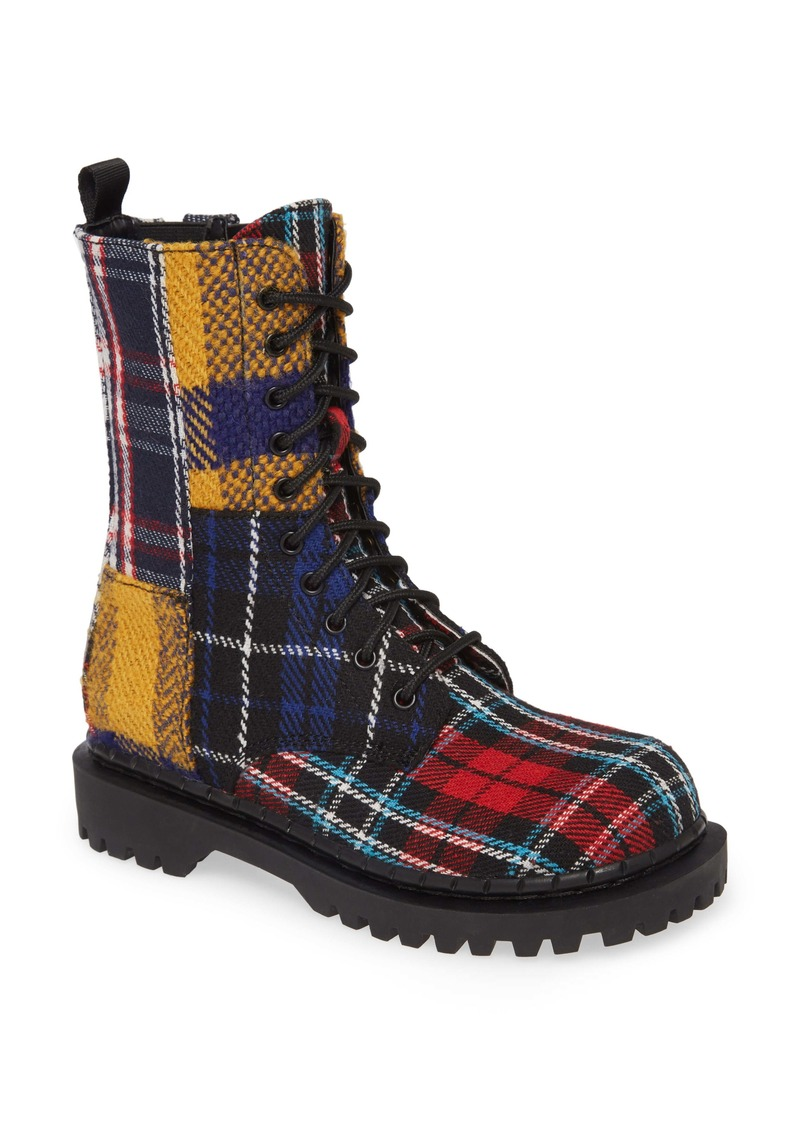 Jeffrey Campbell Kicka Combat Boot (Women)