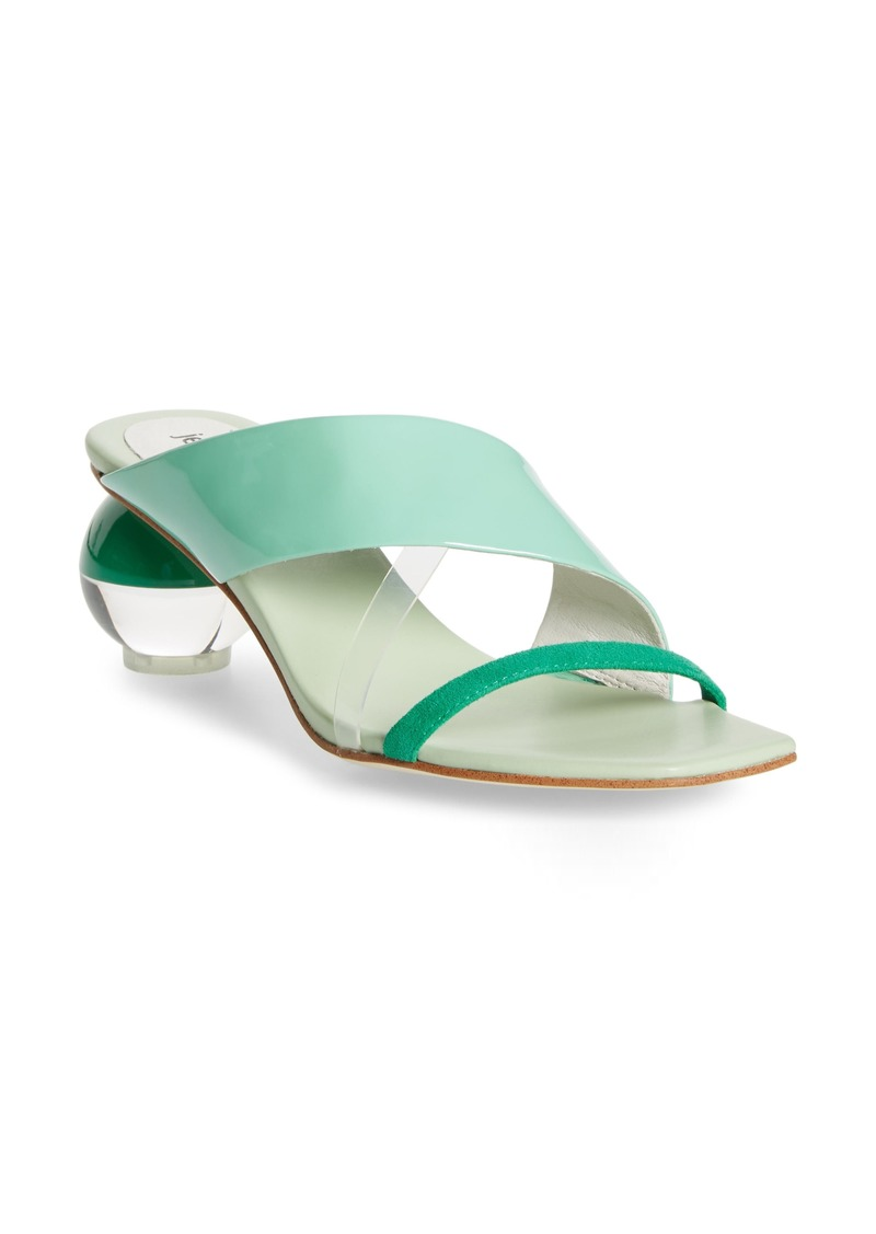 Jeffrey Campbell Laterall Ball Heel Slide Sandal (Women)