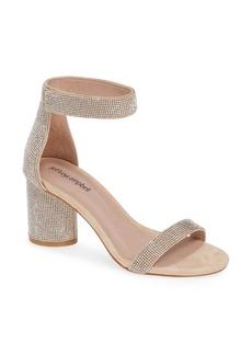 Jeffrey Campbell Laura Crystal Embellished Ankle Strap Sandal (Women)