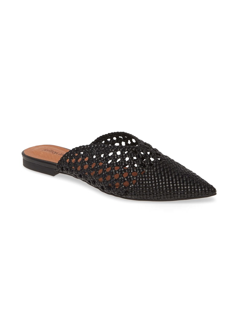 Jeffrey Campbell Leno Woven Pointed Toe Mule (Women)