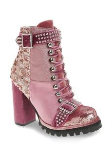 Jeffrey Campbell Lilith Block Heel Bootie (Women)