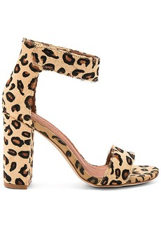Jeffrey Campbell Lindsay Cow Hair Heels in Tan. - size 7 (also in 8,9)