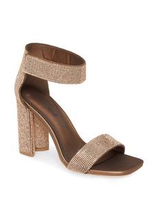 Jeffrey Campbell Lorena Embellished Ankle Strap Sandal (Women)