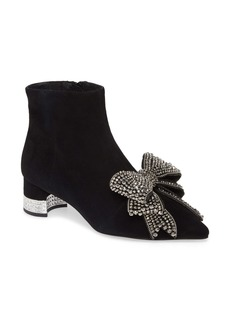 Jeffrey Campbell Luci Embellished Bow Bootie (Women)