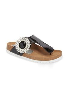Jeffrey Campbell Madeira Embellished T-Strap Sandal (Women)
