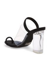 Jeffrey Campbell Mania Clear Toe Loop Sandal (Women)