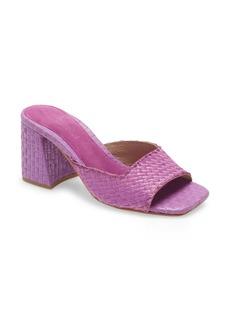 Jeffrey Campbell Melange Woven Slide Sandal (Women)