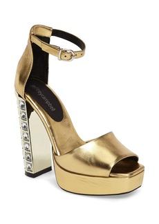 Jeffrey Campbell Mika Embellished Platform Sandal (Women)