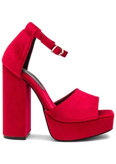 Jeffrey Campbell Mika Heel in Red. - size 10 (also in 7.5,8,8.5,9,9.5)