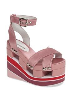 Jeffrey Campbell Monetta Platform Wedge Sandal (Women)