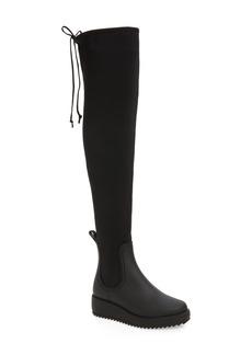 Jeffrey Campbell Monsoon Over the Knee Platform Rain Boot (Women)
