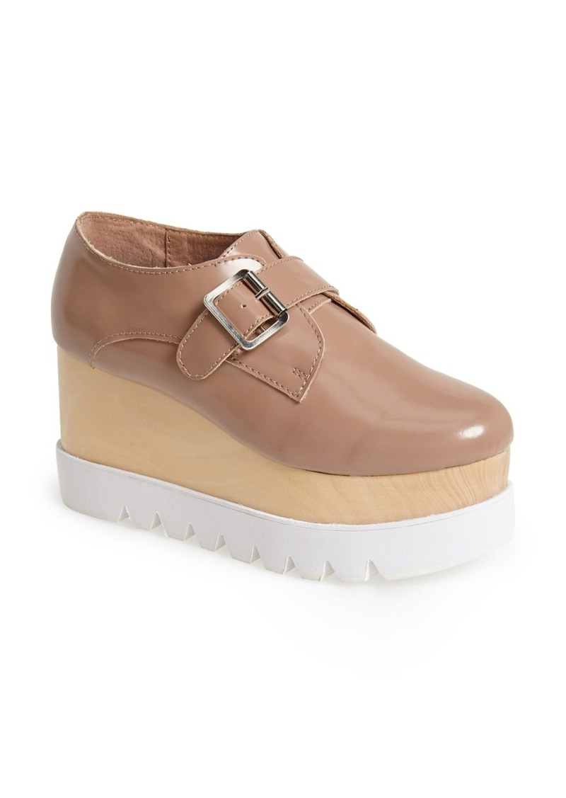 jeffrey campbell jeffrey campbell 39 munk 39 platform wedge women shoes shop it to me. Black Bedroom Furniture Sets. Home Design Ideas