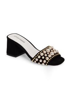 Jeffrey Campbell Parr Embellished Slide Sandal (Women)