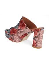 Jeffrey Campbell Pilar 2 Platform Slide Sandal (Women)