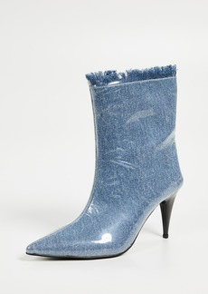 Jeffrey Campbell Plastique Point Toe Booties