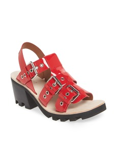 Jeffrey Campbell Riveter Lugged Buckle Sandal (Women)