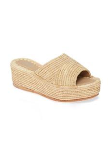 Jeffrey Campbell Romeno Espadrille Platform Slide Sandal (Women)