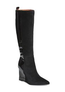 Jeffrey Campbell Rosalva Knee High Wedge Boot (Women)