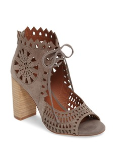 Jeffrey Campbell Cordia Perforated Bootie Sandal (Women)
