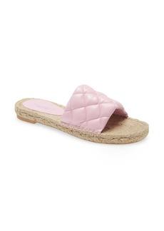 Jeffrey Campbell Salvora Espadrille Slide Sandal (Women)