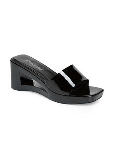 Jeffrey Campbell Shaggy Wedge Slide Sandal (Women)