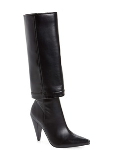 Jeffrey Campbell Sloan Pointed Toe Boot (Women) (Wide Calf)