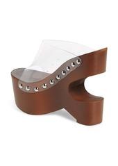 Jeffrey Campbell Smokey Cutout Wedge Slide Sandal (Women)