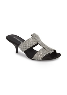 Jeffrey Campbell Tartine Embellished Slide Sandal (Women)
