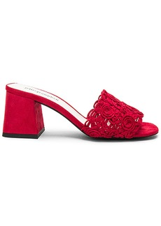 Jeffrey Campbell Tiza Heel in Red. - size 7 (also in 6,9)