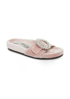 Jeffrey Campbell Upolu Embellished Slide Sandal (Women)